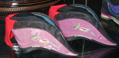 Foot Binding Shoes